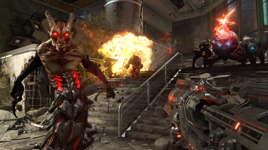 Doom Eternal recebe Denuvo no PC e jogadores respondem negativando o game no Steam