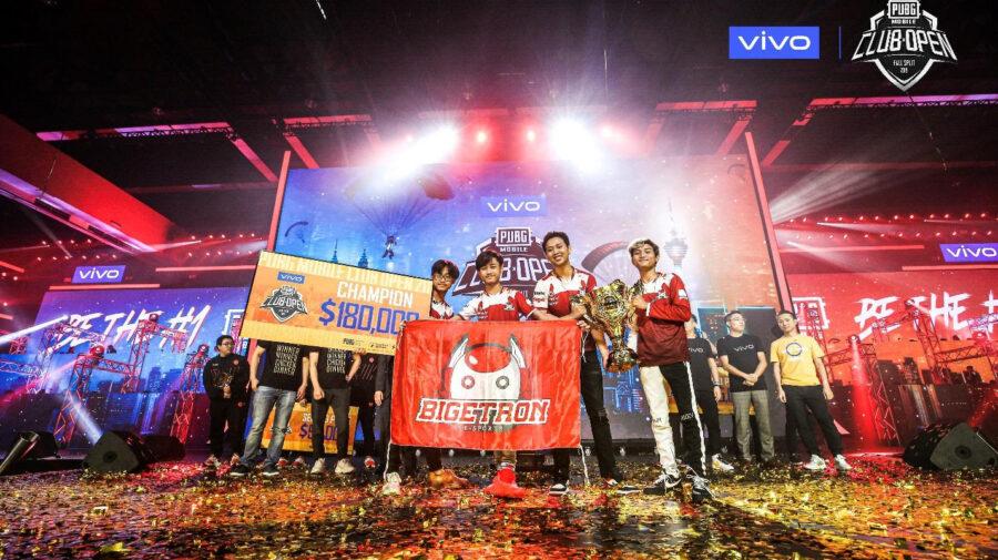 Bigetron RA é o campeão das Finais Mundiais de Outono do PUBG MOBILE Club Open 2019, na Malásia