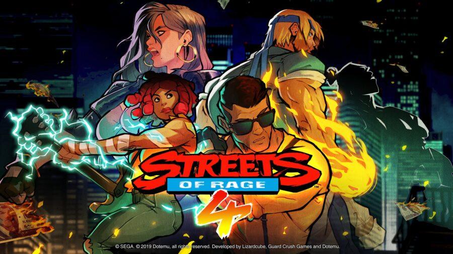 Streets of Rage 4 ganhará versão em formato físico