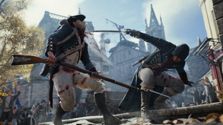 Assassin's Creed Unity foi um dos jogos mais vendidos do mundo em fevereiro