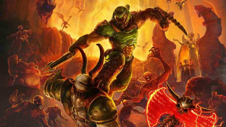 Doom Eternal terá Denuvo removido após reclamações dos fãs