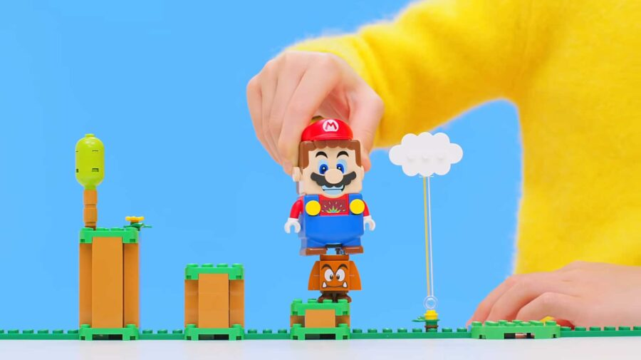 Nintendo e Lego anunciam brinquedo interativo de Super Mario