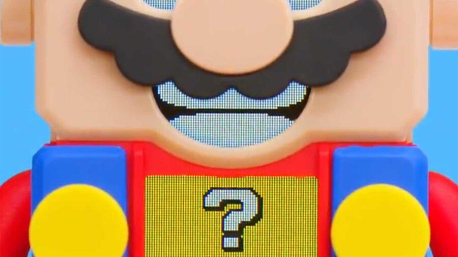 LEGO de Super Mario está a caminho