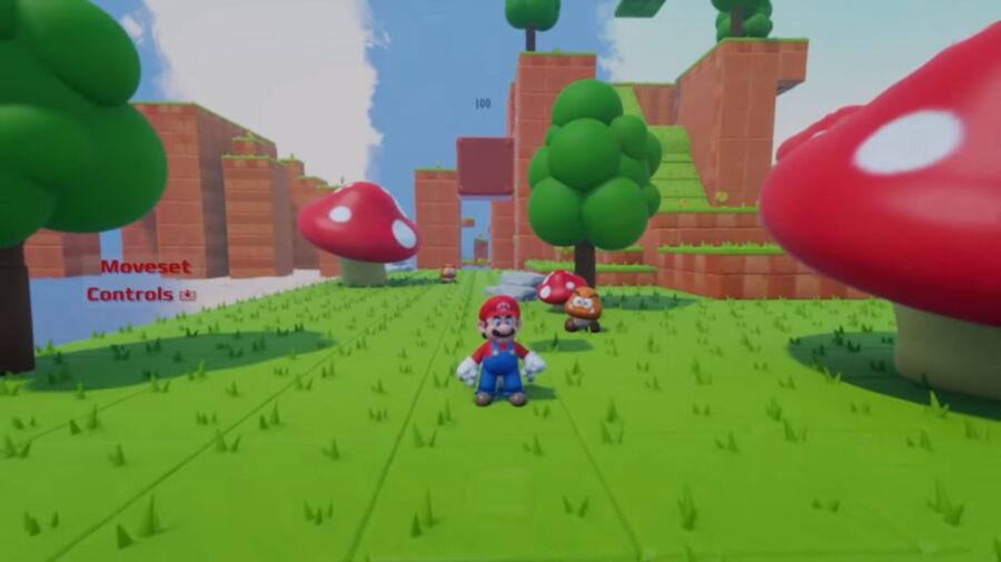 Sony remove modelo de Super Mario criado em Dreams após reclamação da Nintendo