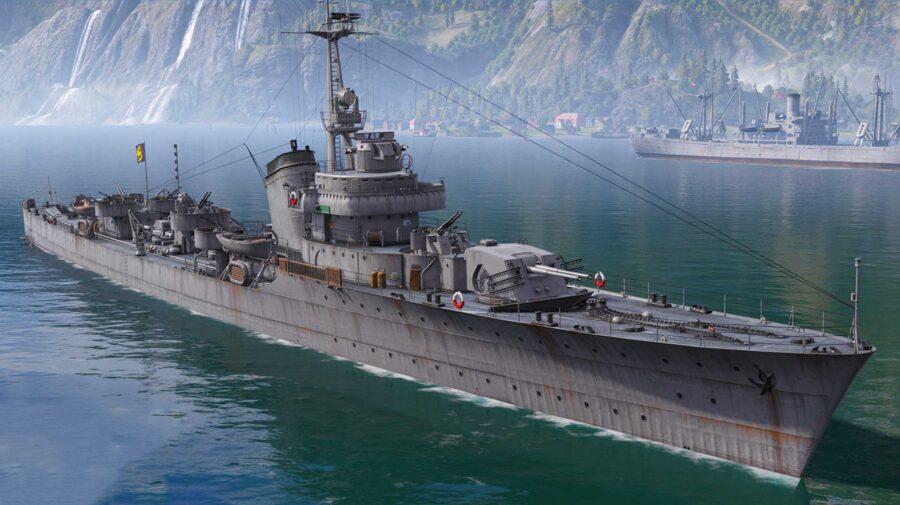 World of Warships recebe destróieres suecos em atualização