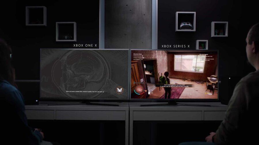 Microsoft demonstra a diferença no tempo de loading entre Xbox Series X e Xbox One X