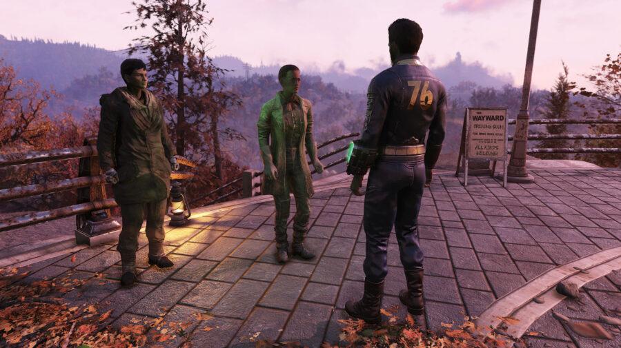 Fallout 76 tem bug bizarro que faz NPCs roubarem itens dos jogadores