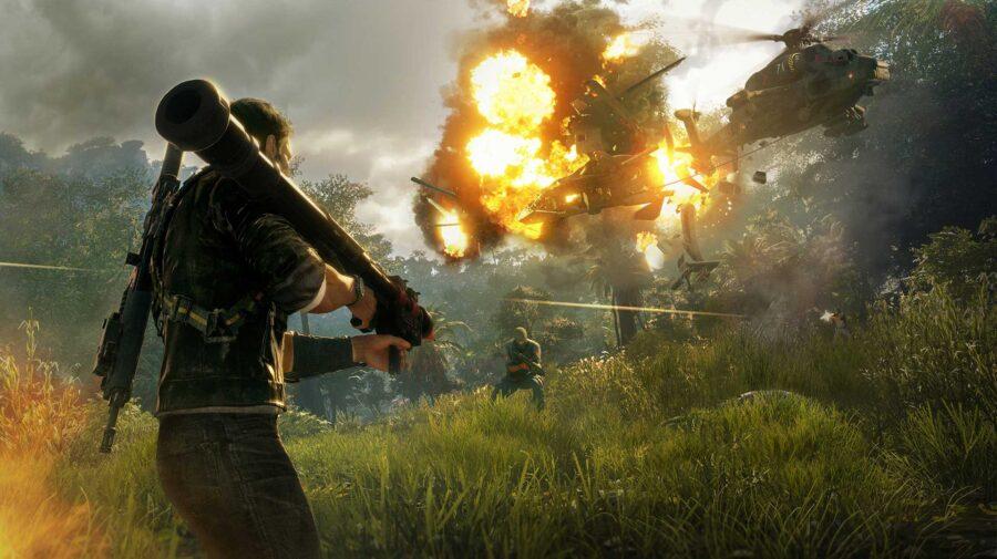 Just Cause 4 grátis semana que vem na Epic Games Store
