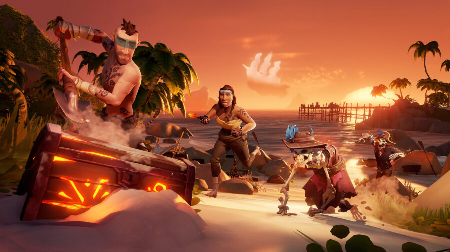 Sea of Thieves rodará em 4K/60 fps no Xbox Series X e 1080p/60 fps no Xbox Series S