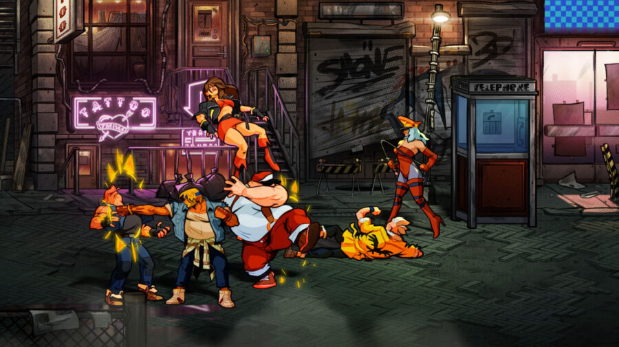 Streets of Rage 4 será disponibilizado este mês no Xbox Game Pass