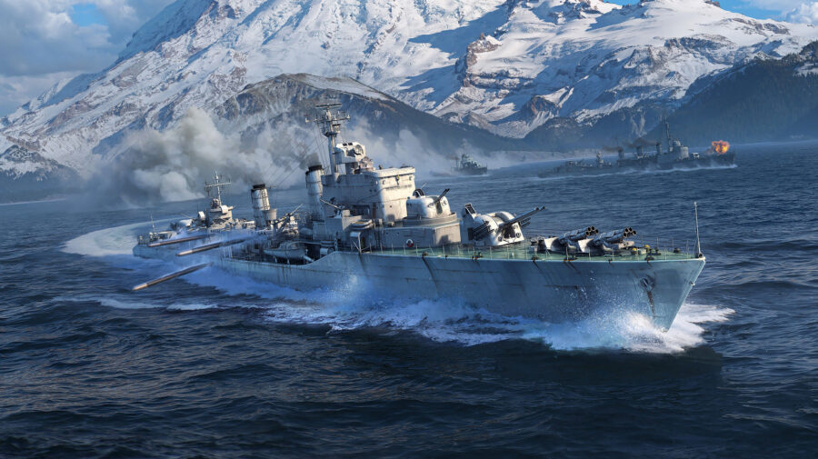 World of Warships recebe novos destróieres europeus
