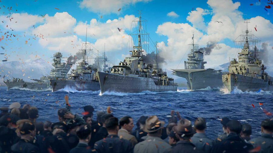World of Warships terá evento para celebrar 75 anos do fim da Segunda Guerra Mundial