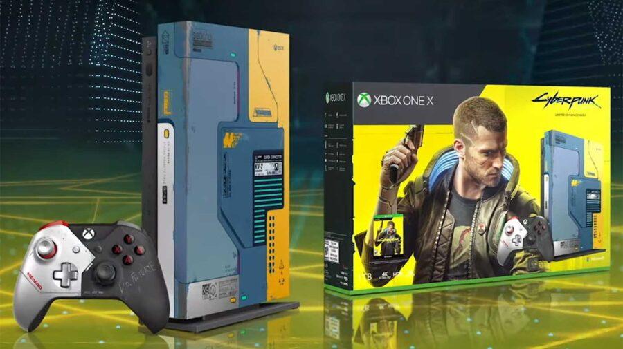 Edição Limitada do Xbox One X de Cyberpunk 2077 está em pré-venda no Brasil por R$ 7.500