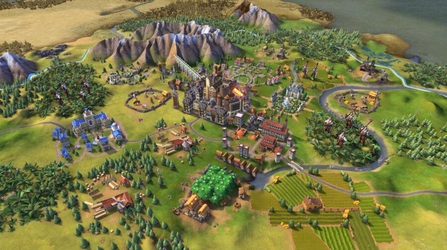 Civilization VI grátis na Epic Games Store até dia 28 de maio