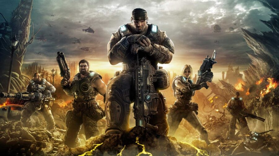 Vídeo mostra Gears of War 3 rodando no PlayStation 3