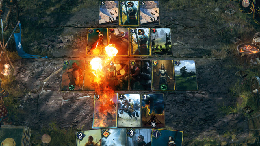 GWENT: The Witcher Card Game agora está disponível no Steam