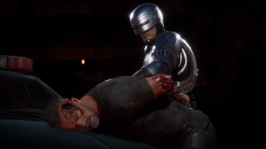 Robocop enfrenta Exterminador do Futuro em novos vídeos de Mortal Kombat 11: Aftermath