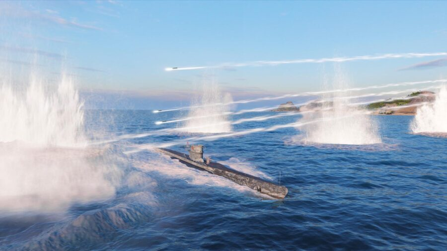 World of Warships agora tem batalhas de submarino por tempo limitado