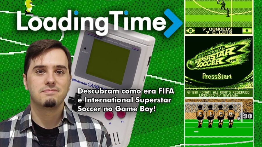 Loading Time: como eram FIFA e International Superstar Soccer para o Game Boy