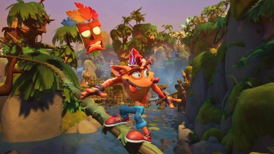 Demo de Crash Bandicoot 4 disponível semana que vem para quem comprar jogo na pré-venda
