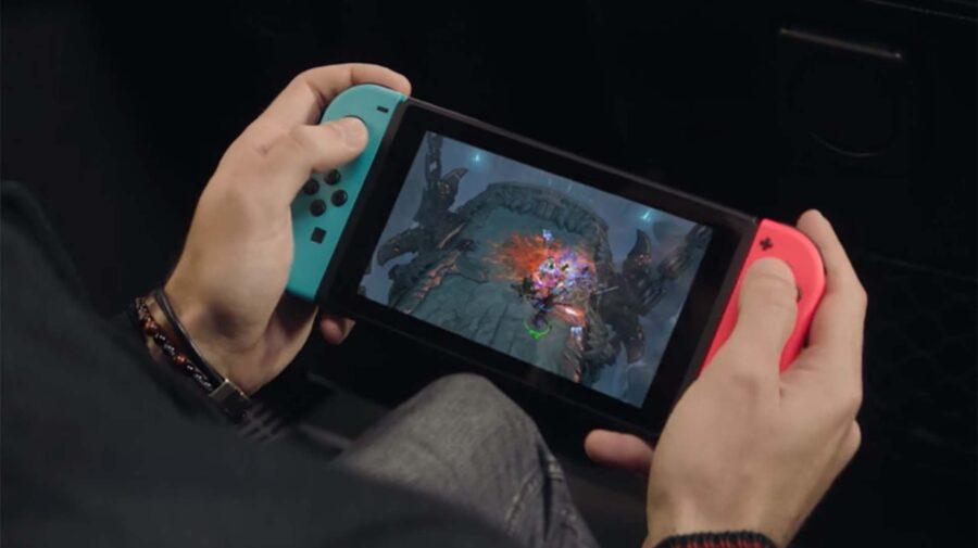Nintendo vendeu 4,2 milhões de Switch em março