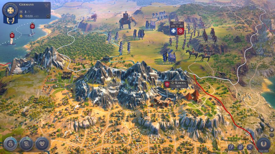 Humankind recebe novo vídeo que explora a mecânica de batalhas no jogo
