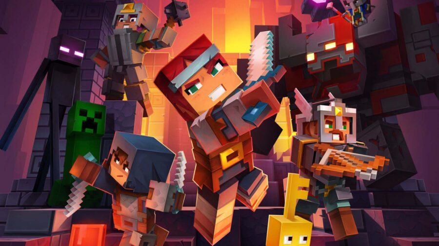 Minecraft Dungeons receberá crossplay via atualização gratuita