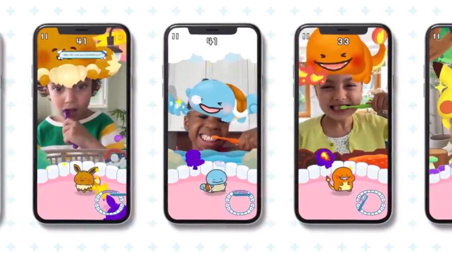 Pokémon Smile é jogo feito para incentivar as crianças a escovar os dentes