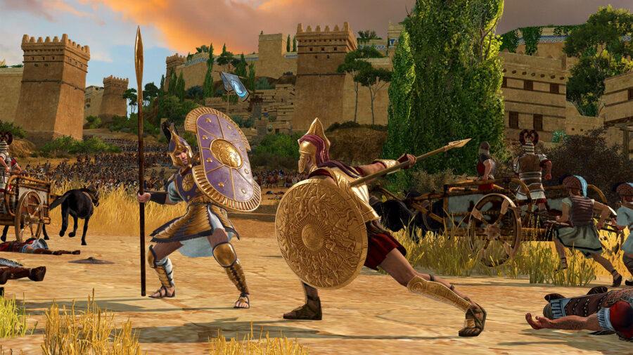 Total War Saga: Troy foi resgatado por 7,5 milhões de pessoas na Epic Games Store