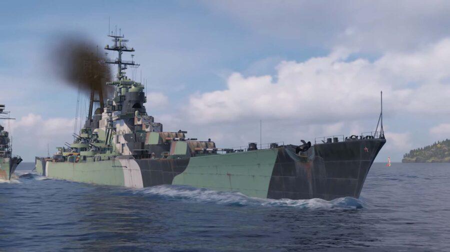 World of Warships recebe melhorias em estaleiro e novidades em Cruzadores Soviéticos