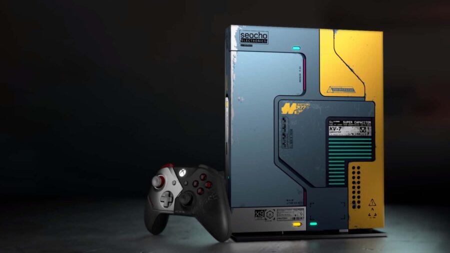 Além do jogo, Xbox One X com temática de Cyberpunk 2077 vem com expansão gratuita
