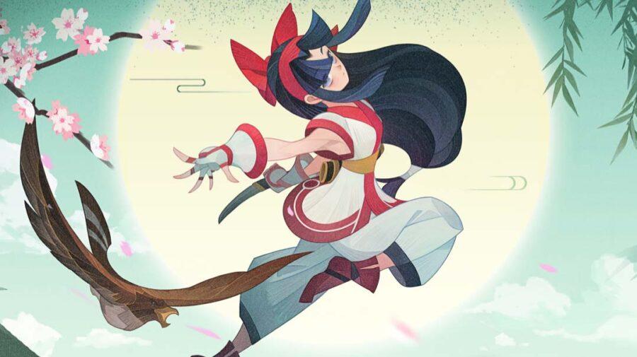 Nakoruru, de Samurai Shodown, é a nova personagem de AFK Arena