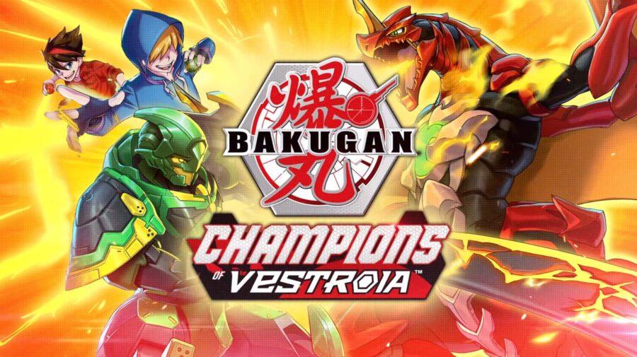 Bakugan: Champions of Vestroia chega ao Switch no dia 3 de novembro