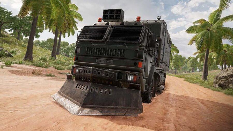 Caminhão de Loot de PUBG chega aos consoles