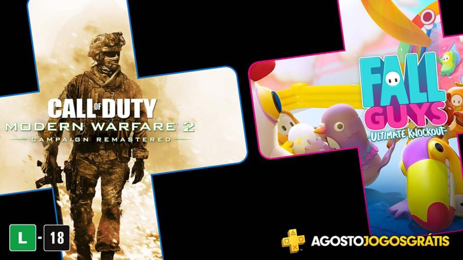Call of Duty: Modern Warfare 2 Remastered em agosto na PS Plus