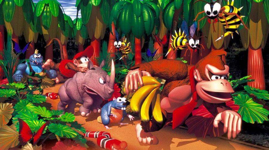 Donkey Kong Country chega no dia 15 de julho para assinantes do Switch Online