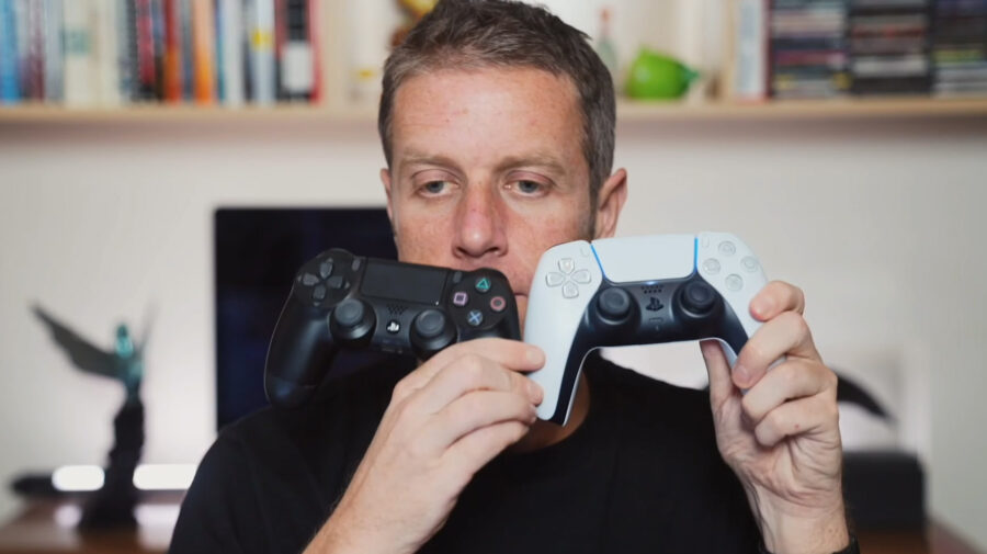 DualSense, o controle do PS5, é demonstrado em vídeo com gameplay de Astro's Playroom