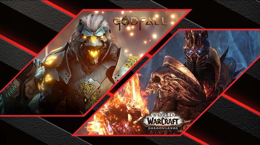 Godfall e WoW: Shadowlands de graça na compra de placas Radeon RX 5000