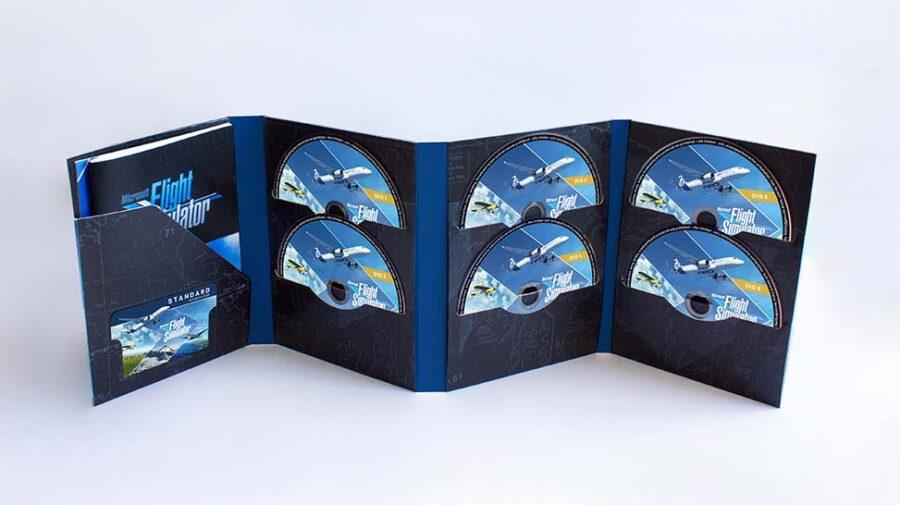 Microsoft Flight Simulator terá edição física com 10 discos no PC