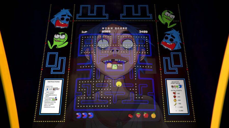Banda Gorillaz homenageia Pac-Man com música e videoclipe