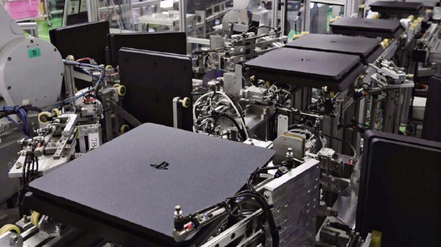 Sony já consegue fabricar um novo PlayStation 4 a cada 30 segundos