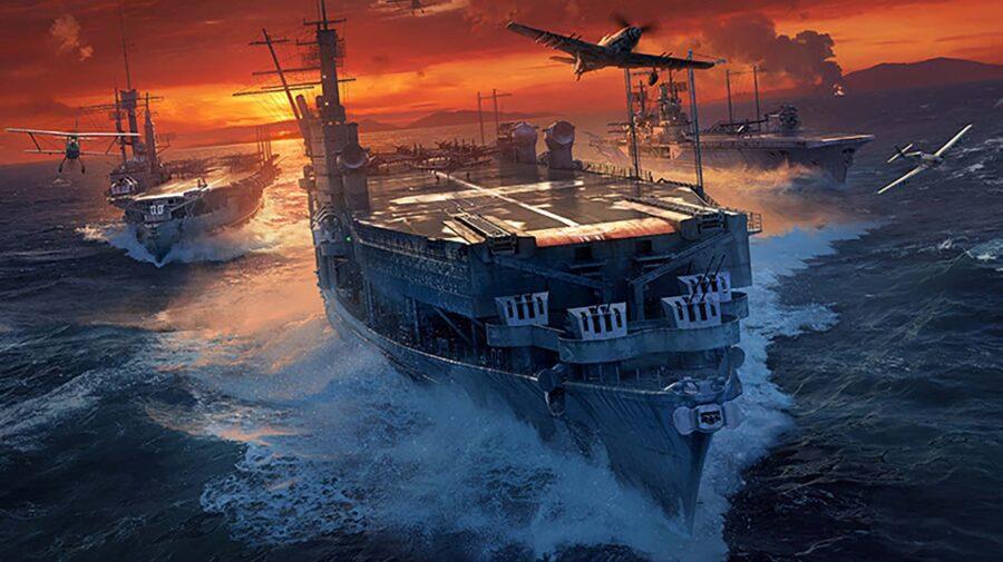 Atualização em World of Warships inclui três porta-aviões da Alemanha