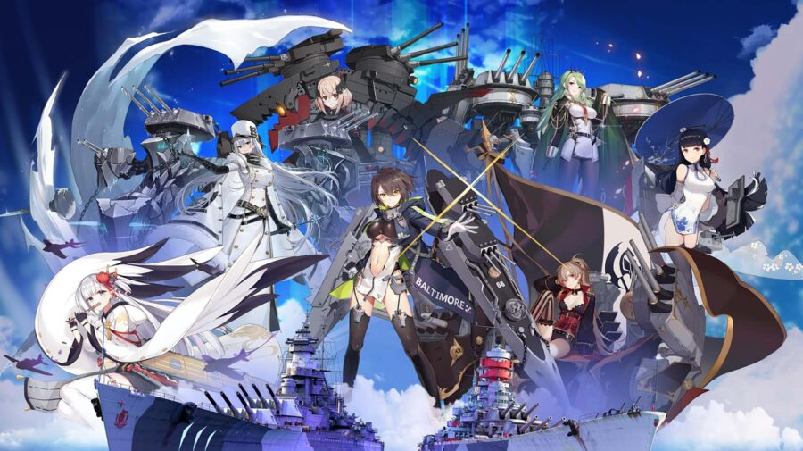 Terceira onda da colaboração com Azur Lane chega a World of Warships