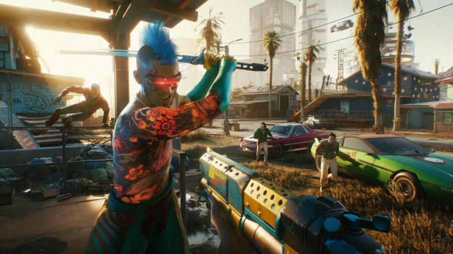 Cyberpunk 2077 bate recorde e ultrapassa marca de 1 milhão de jogadores simultâneos no Steam