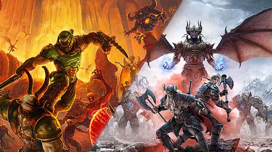 Doom Eternal e The Elder Scrolls Online serão lançados para PS5 e Xbox Series X