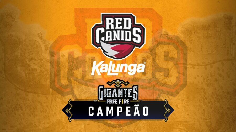 Com RED Canids Kalunga, Brasil é campeão do Gigantes Free Fire