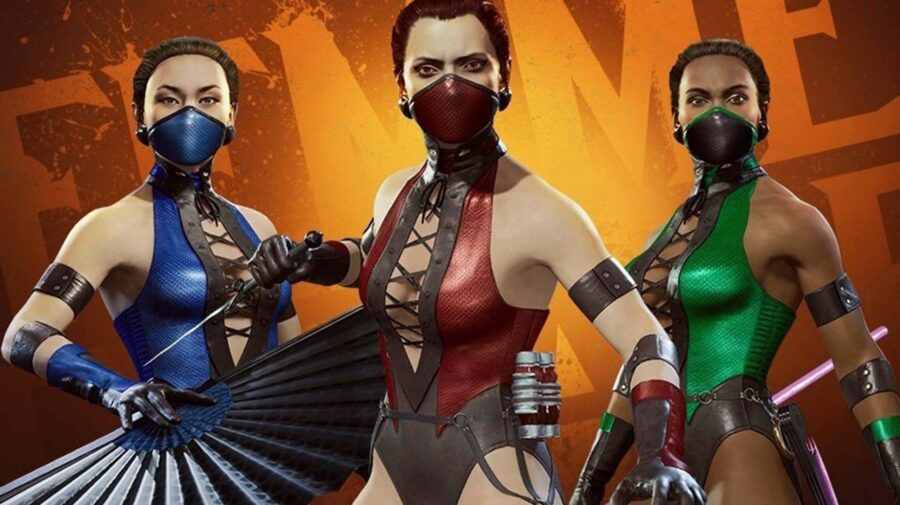 Mortal Kombat 11: Aftermath ganha skins clássicas para Kitana, Jade e Skarlet