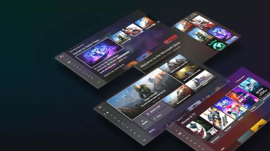 Novo design da Microsoft Store é revelado para Xbox