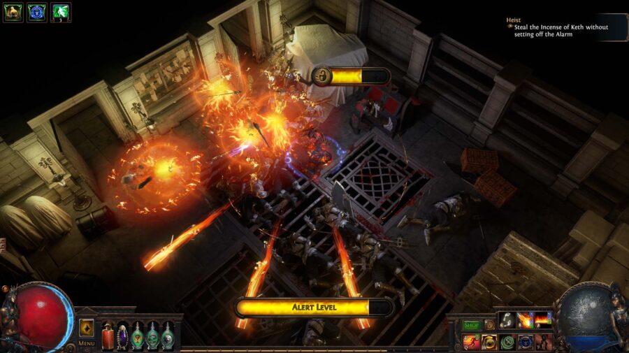 Mais detalhes de Path of Exile: Heist, que chega no dia 18 para PC e no dia 23 para PS4 e Xbox One