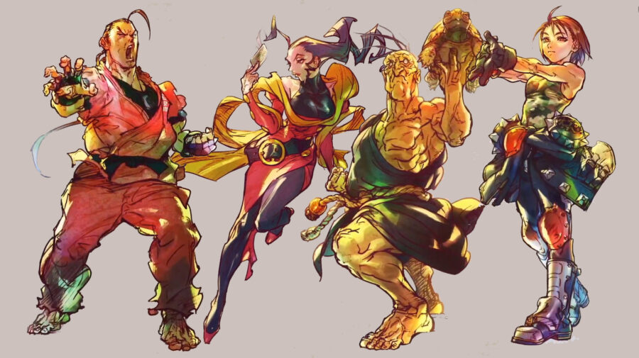 Dan, Rose, Oro e Akira serão os próximos lutadores de Street Fighter V